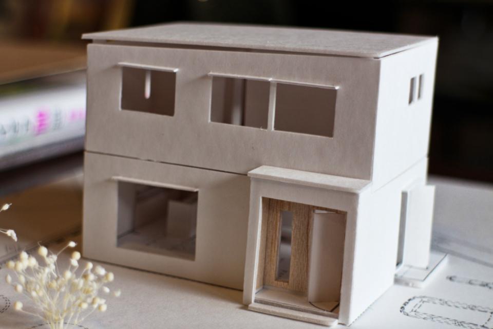 建築プラン_模型